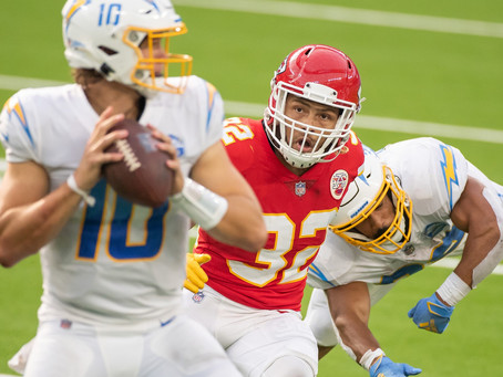 The Chiefs Beat The Chargers in Overtime 23-20 to Spoil Home Opener