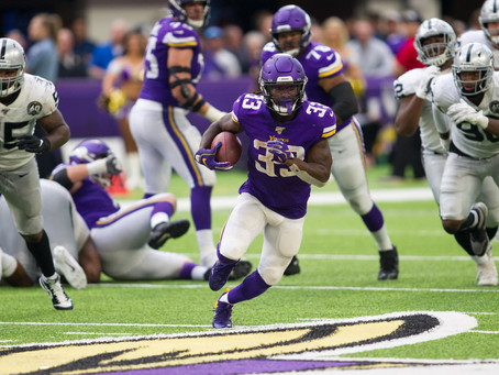 Vikings Too Much for Raiders in 34-14 Victory at Home