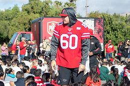 11-19-19 San Francisco 49ers Community Event Gallery