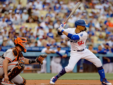 Mookie Betts and the Dodgers beat the Giants 3-2