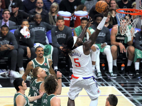 Clippers Come Up Short Against Bucks 129-124