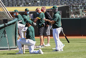 7-11-20  Oakland A's Training Camp Gallery