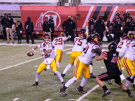 Trojans beat Utes 33-17 to end their 11-games home win streak