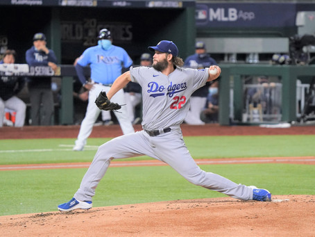 Kershaw Restores Order as the Dodgers beat Tampa Bay 4-2
