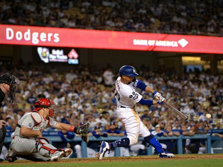 Mookie Betts and Dodgers' Bullpen beat Phillies 5-3