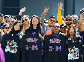 2-24-20 Kobe & Gianna Bryant Fans' Farewell Gallery