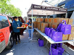 4-15-20 LAFC Food Drive Give Away Gallery