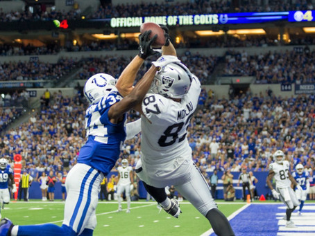 Oakland Raiders Outlast Indianapolis Colts 31-24