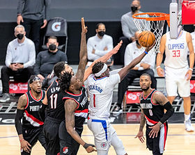 4-6-21 Portland Trail Blazers-Los Angeles Clippers Gallery