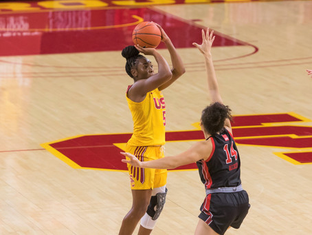 USC bounces back and beat Utah in a thriller 60-59