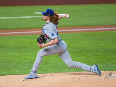 Dustin May Confident On Mound For Dodgers