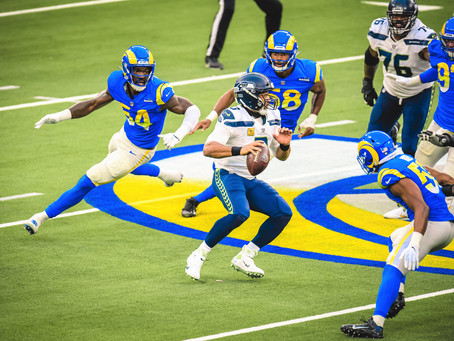 Rams Defense and Running Game Clip Seahawks 23-16