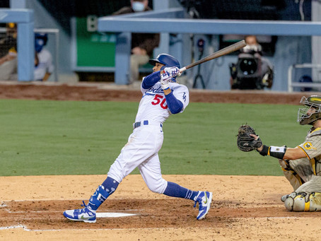 Mookie Valuable Player Powers Dodgers Past Padres