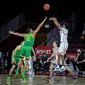 2-22-21 Oregon Ducks-USC Trojans Gallery