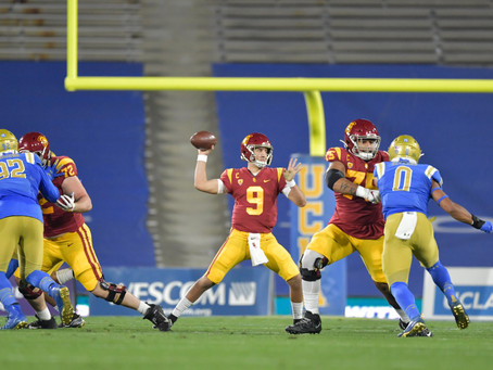 USC outlast UCLA 43-38 in a shootout at the Rose Bowl