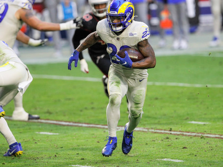 Rams are in first place in the NFC West after beating the Cardinals 38-28