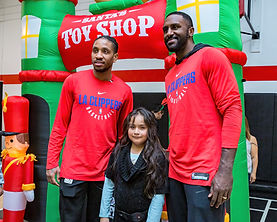12-16-19 Los Angeles Clippers 14th Annual Adopt-A-Family Gallery
