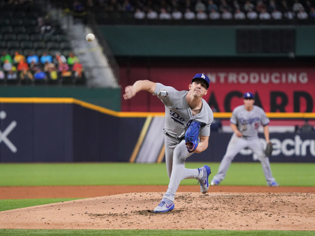 Beuhler is Unstoppable as the Dodgers beat Tampa Bay 6-2