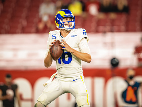 Goff and the Rams beat Brady and the Bucs 27-24