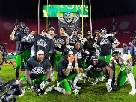 Oregon wins back-to-back Pac-12 Championships after beating USC 31-24