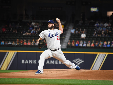 Kershaw  and Dodgers  Beat Tampa Bay 8-3 in Game 1 of the World Series