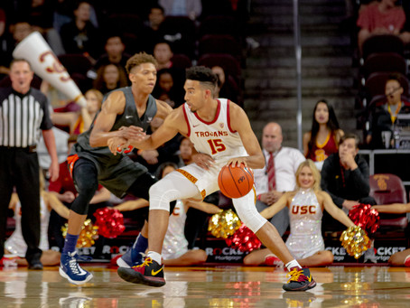 Waves Come Crashing Down in 91-84 Loss to the Trojans
