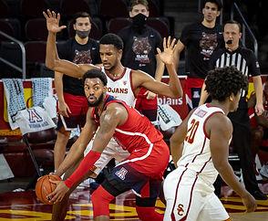 2-20-21 Arizona Wildcats-USC Trojans Gallery
