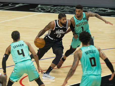 Hornets Defense Not Enough For Clippers Offense.
