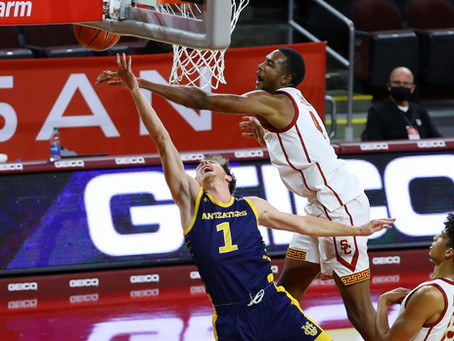 USC Trojans bounce back to be the UC Irvine Anteaters 91-56