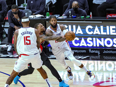 Paul George and the Clippers beat the Trail Blazers 133-116