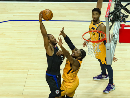 Kawhi Leonard and Paul George Too Much for Jazz in 118-104 Defeat