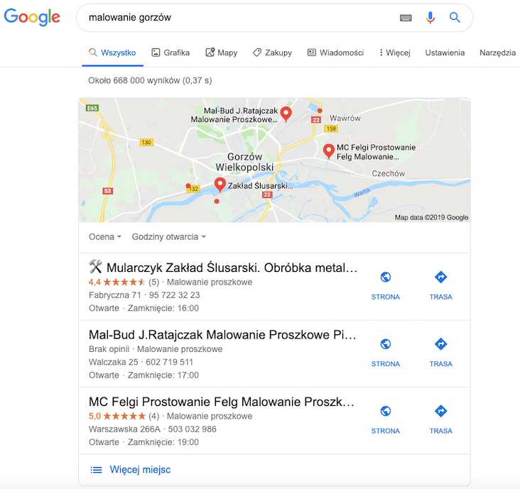 Top3 Google Moja Firma