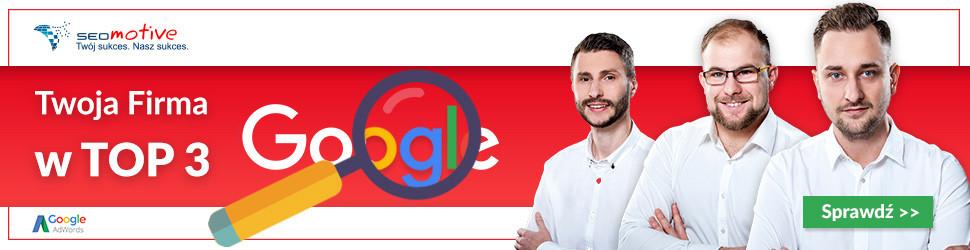 SEOmotive Agencja Interaktywna - Certyfikowani Specjaliści Google