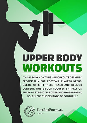 Football-Specific Upper Body Workouts