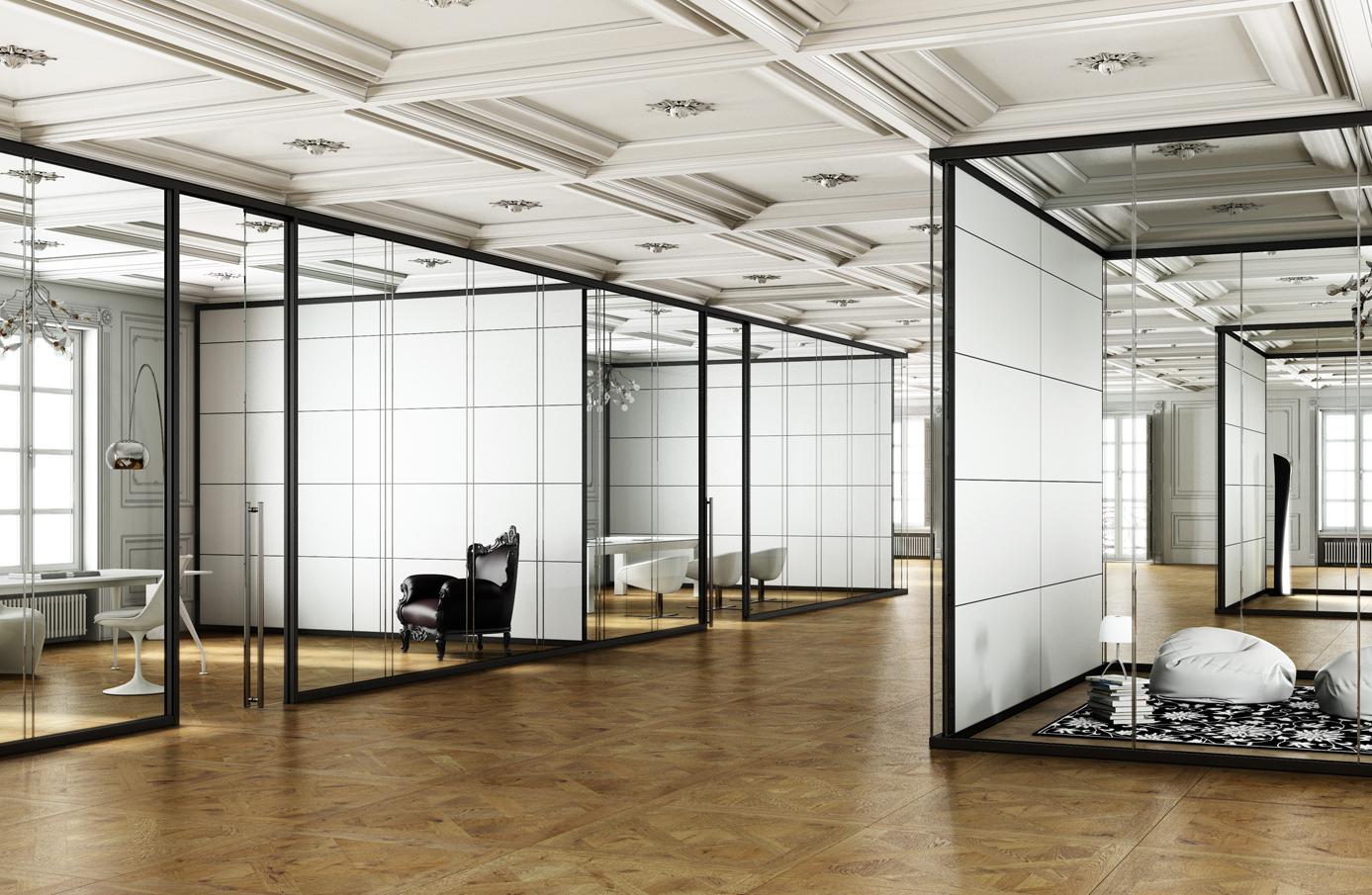 Render Arredo Ufficio | Pareti