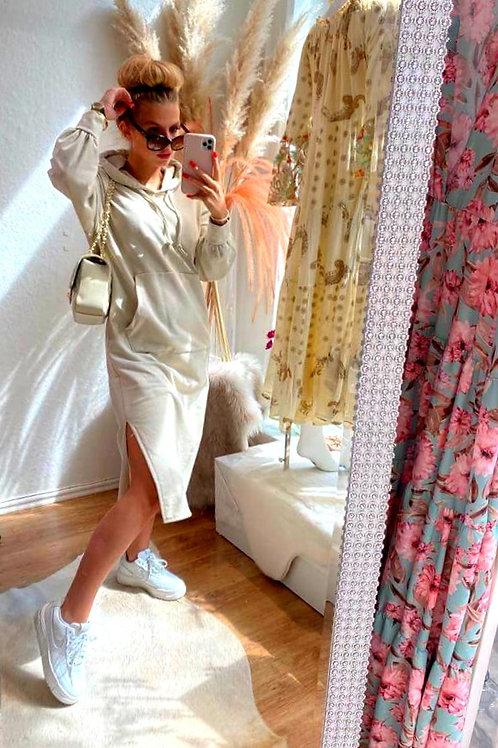 Cooles SWEATER Dress Beige