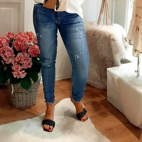 Super Frill DOTY Jeans Used Look Gr. S - XL