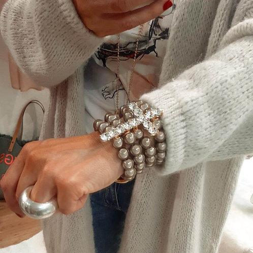 SPRECIOUS Cross Armband