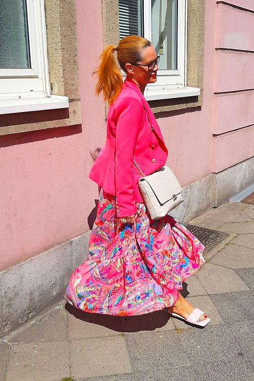 PINK Coral MAXI SUMMER Dress
