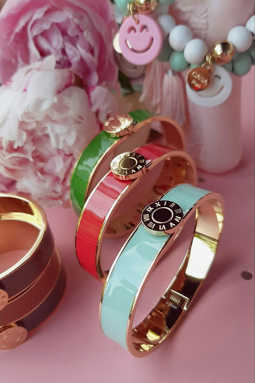 Armband PRECIOUS Emaille 6 Farben