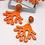 Thumbnail: Ohrstecker Coral Büffelhorn versch. Farben