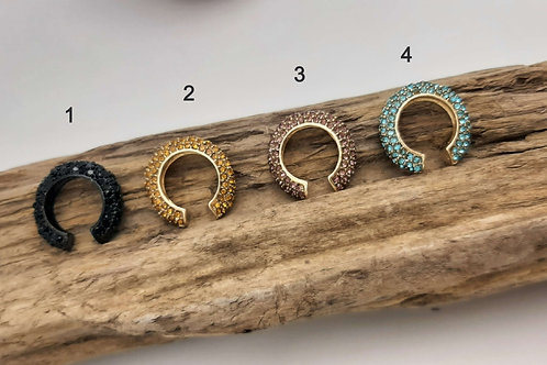 ROUNDED EAR CUFFS