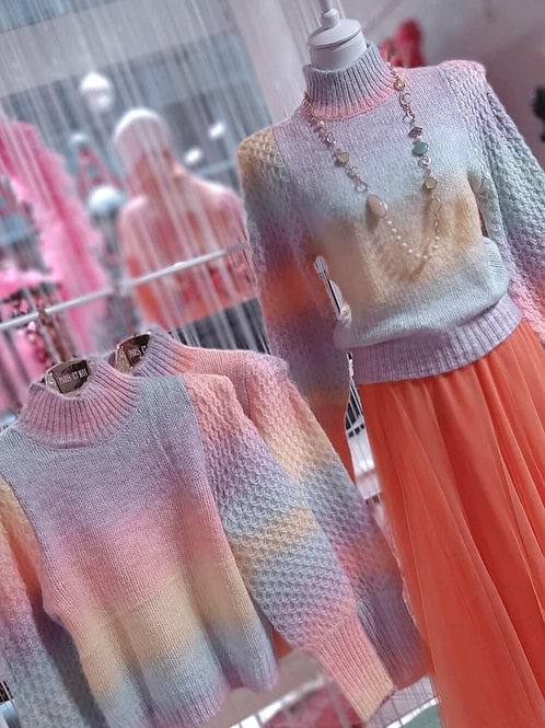 SWEET CANDY Strick Pullover