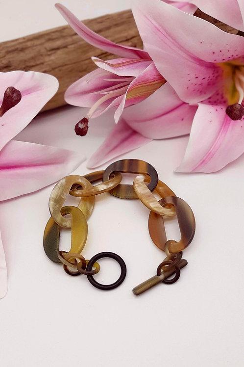 Lorie Büffelhorn Armband