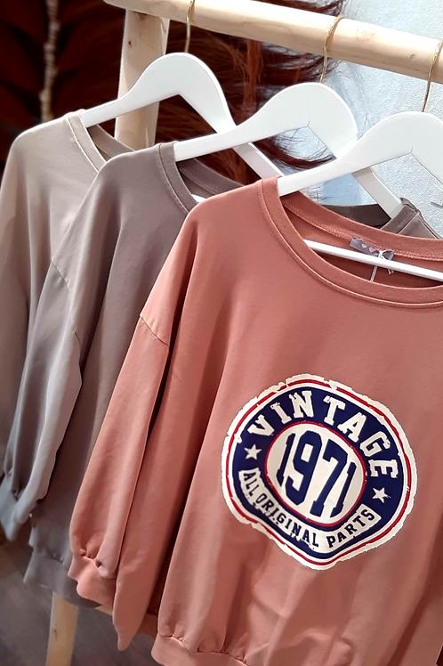 Triny VINTAGE Sweater versch. Farben