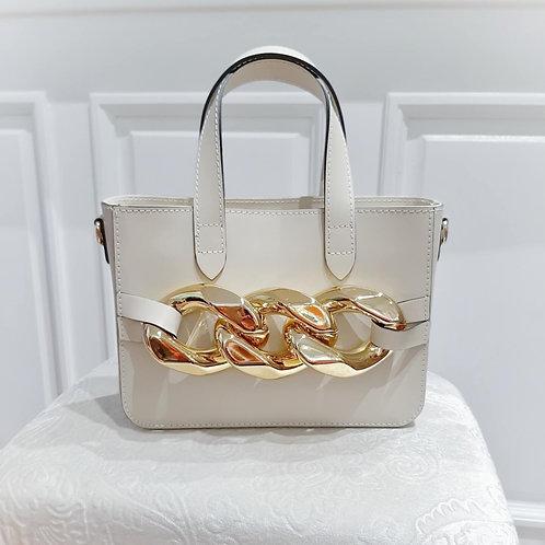GOLDEN STORY SMALL Bag Beige
