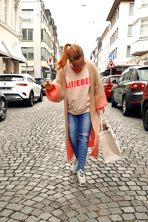 Neon Sweater L.I.E.B.E versch. Farben