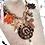 Thumbnail: UNIQUE FANCY SUMMER Necklace MADONNA Büffelhorn