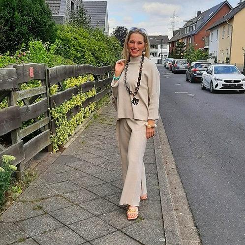 Kette AMIRA Büffelhorn 925 STERLING SILVER