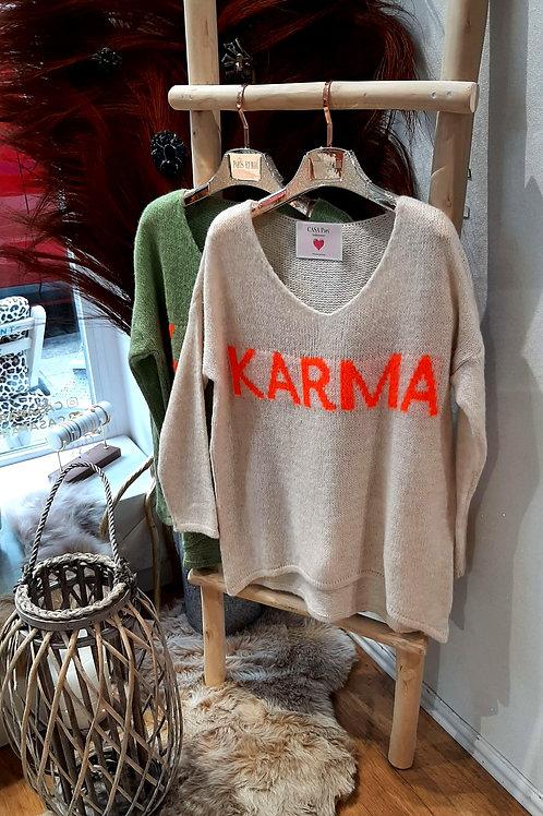 K.A.R.M.A  Fein Strick Pulli versch. Farben